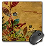3dRose LLC 8 x 8 x 0.25 Inches Mouse Pad, Earth Toned Garden (mp_23430_1)