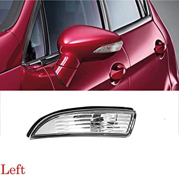 New Left Door Wing Mirror Indicator Cover for Ford Fiesta MK7 MK8 8A61-17683