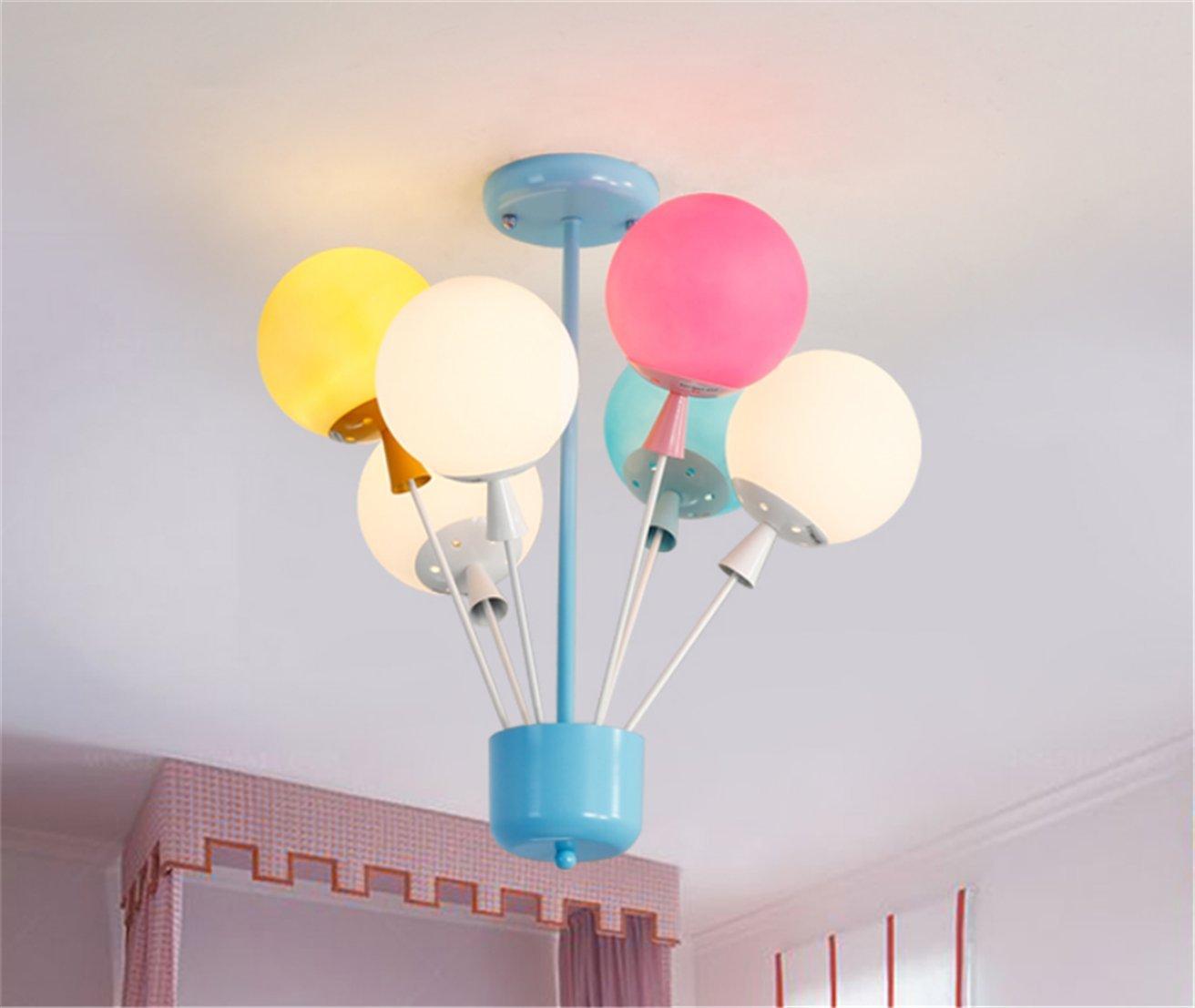Lampe Pour Chambre D Enfant Ballon Couleur Ballons Plafonnier