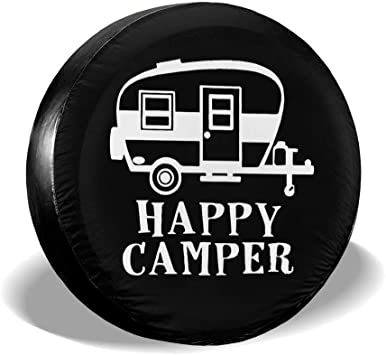 MSGUIDE Spare Tire Cover Waterproof Wheel Tire Protectors for Jeep 14 15 16 17 Truck and Many Vehicle Universal Fits Tire SUV Camper Travel Trailer RV