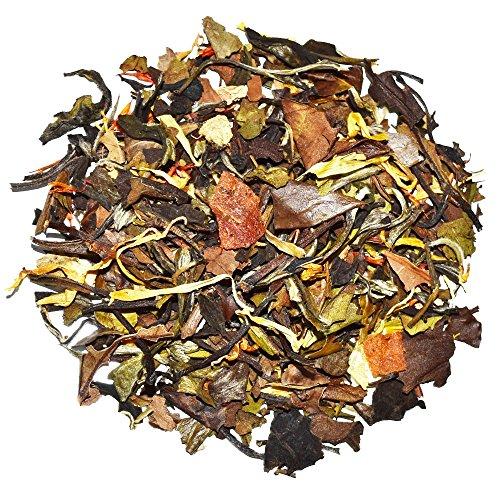 Orange Peach White Tea - Chinese Tea - Caffeinated - Loose Leaf Tea - 8oz