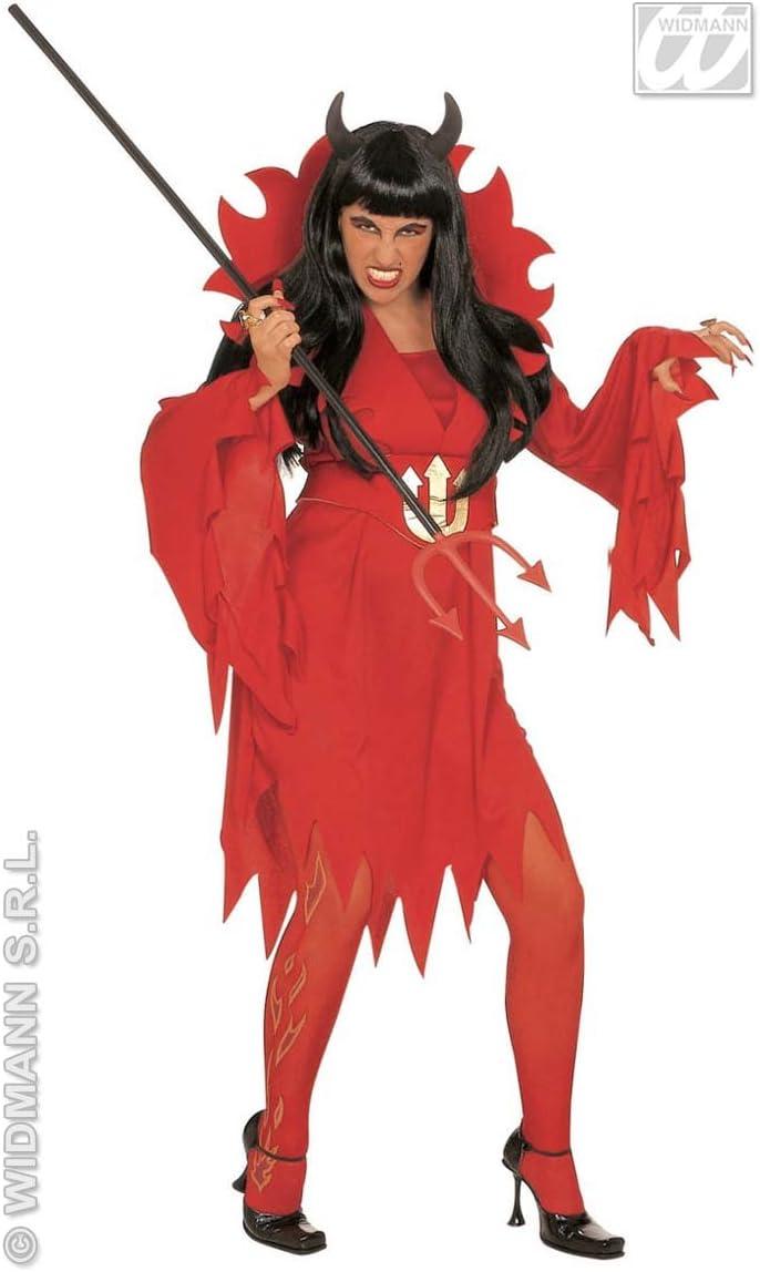WIDMANN Desconocido Disfraz de Diabla - Talla S: Amazon.es ...