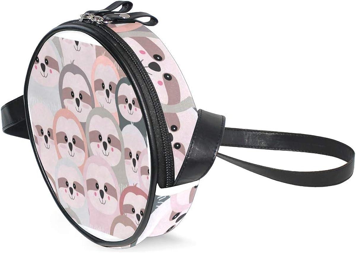 Round Crossbody Bag Cute...