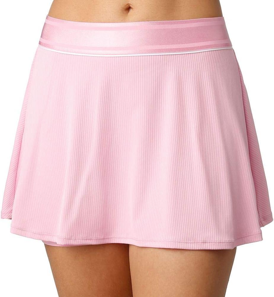 Nike NikeCourt Dry Faldas, Mujer, Pink Rise/White/White, XS ...