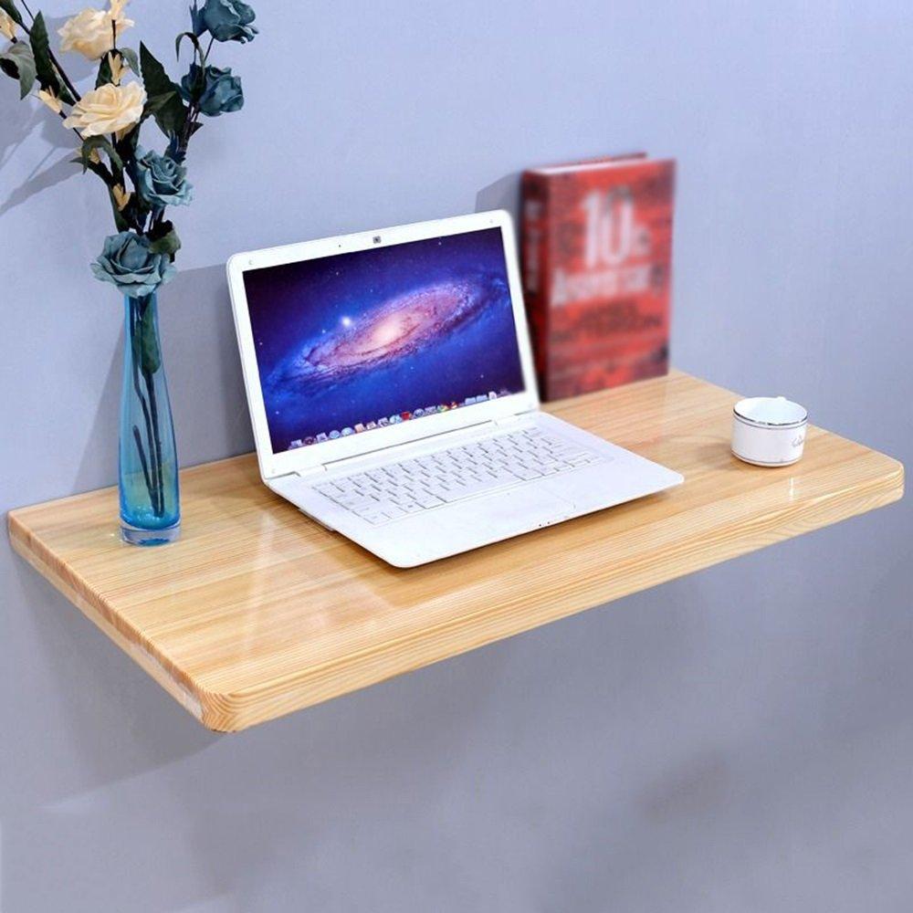 XIA 折り畳みテーブル 壁用のソリッドウッド折りたたみテーブルの食事テーブルコンピュータのデスクスタディデスクの壁のテーブル折りたたみテーブル 折りたたみテーブル (サイズ さいず : 100*40CM) B07CZ54FL4 100*40CM 100*40CM