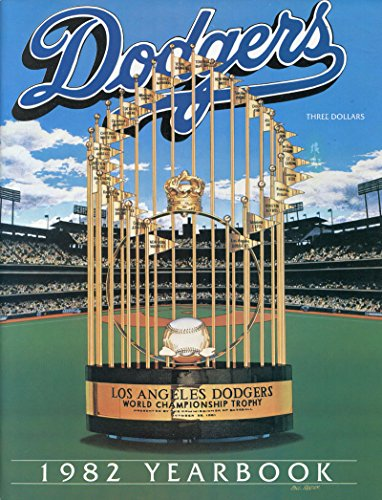 Los Angeles Dodgers 1982 Yearbook