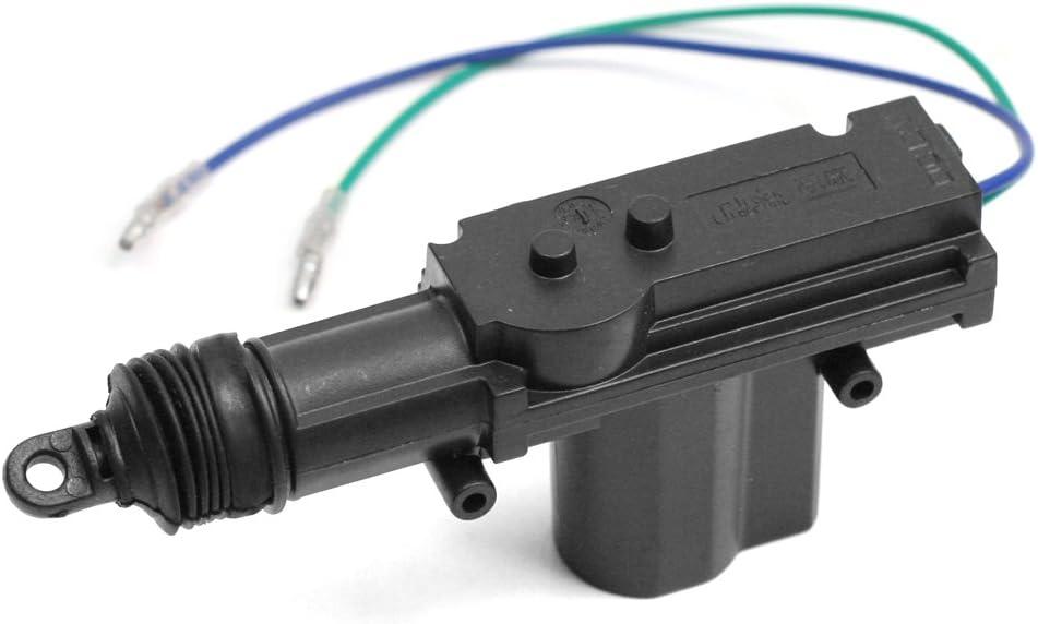 Universal Actuador Motor Cierre de Puerta 2 Cables 12V Con Herramientas Kit