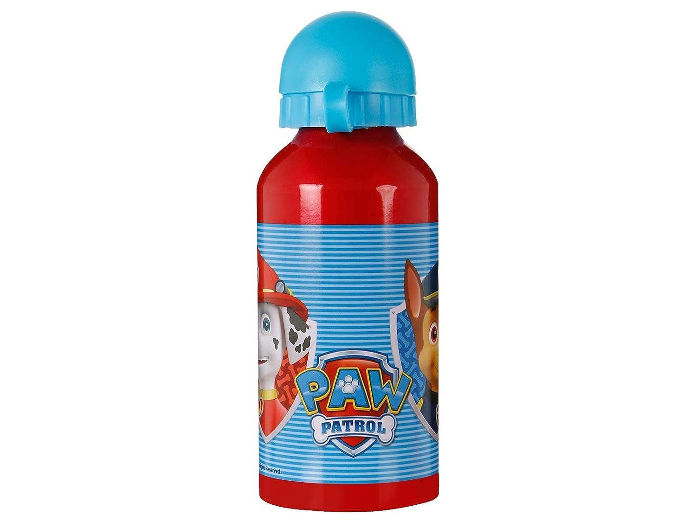 Paw Patrol die Patrulla Canina –  Trinkflasche Aluminium 400 ml (Stor 80735)
