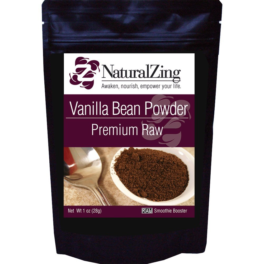 Vanilla Bean Powder (Raw, Premium) 1 oz