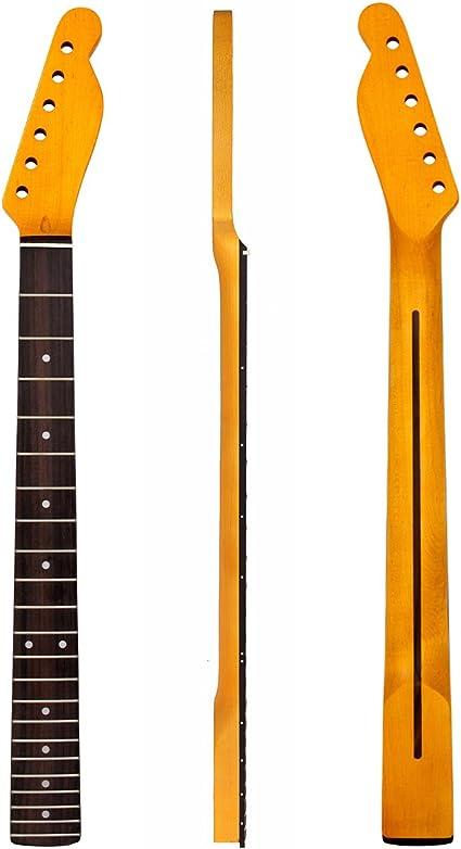 Kmise guitarra eléctrica Cuello Para Fender TL perno en forma de ...