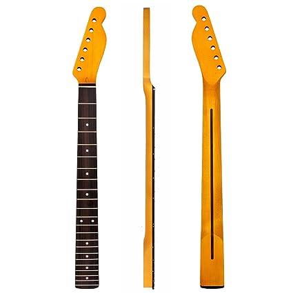Kmise guitarra eléctrica Cuello Para Fender TL perno en forma de partes de repuesto Canadá arce