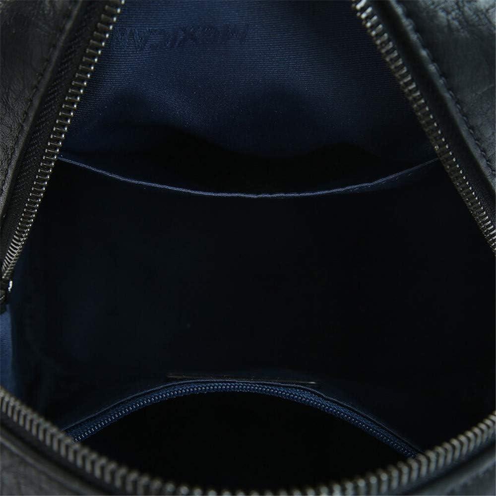 Womens Backpack Leather Retro Fringe College Wind Bag Mini Anti-Theft Travel Backpack Wallet 23.3/×13/×25.5CM Multipurpose Daypacks