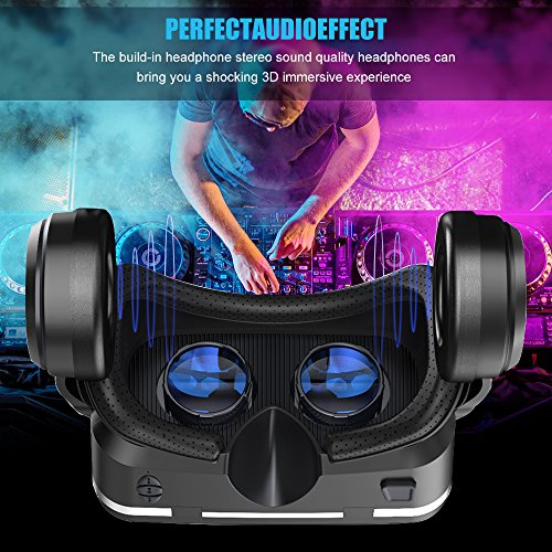 0479da5015a BENGOO VR Headset Goggles with Stereo Headphones