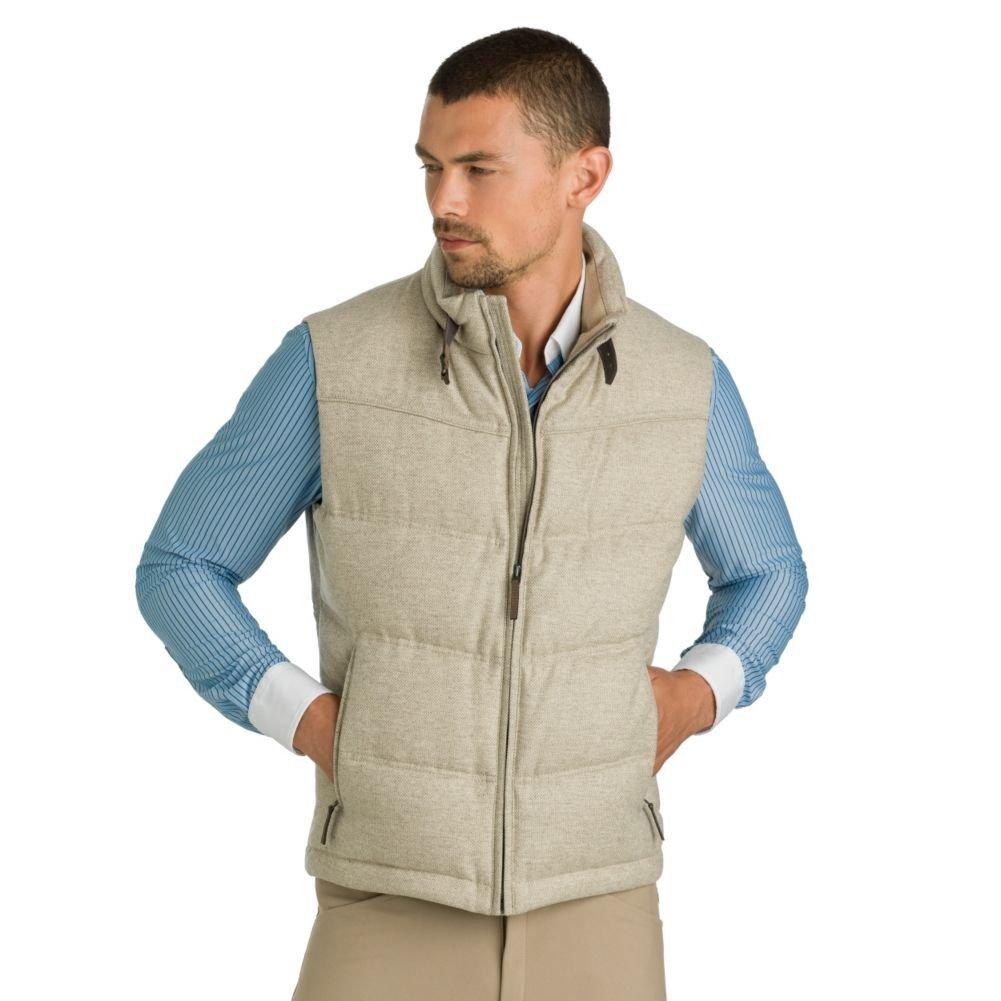 Schneiders Men's Flint Vest 48 Beige/Beige by Schneiders