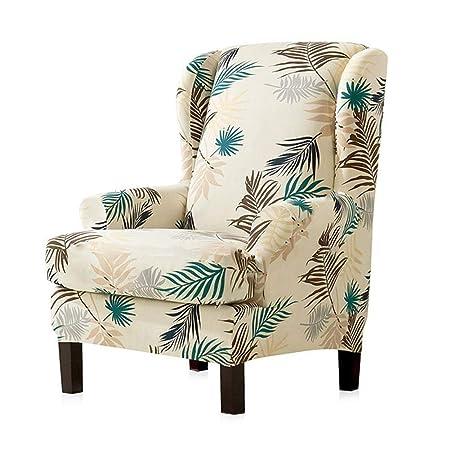 Amazon Com Sweetdream Wing Chair Slipcovers 2 Piece Sofa