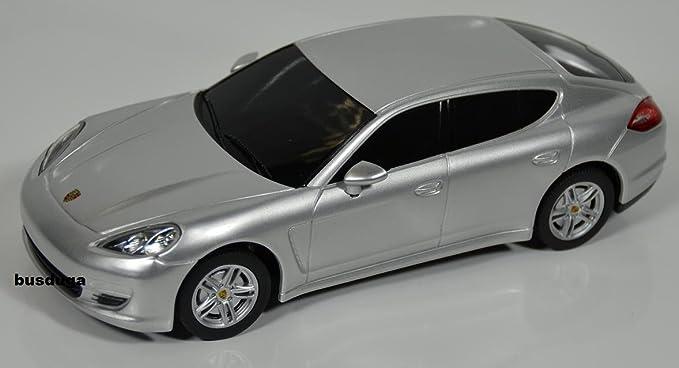 Jamara RC Porsche Panamera - Escala.: 1: 24 - teledirigido - Juego completo - Color.: Plata - Licencia de réplica: Amazon.es: Juguetes y juegos