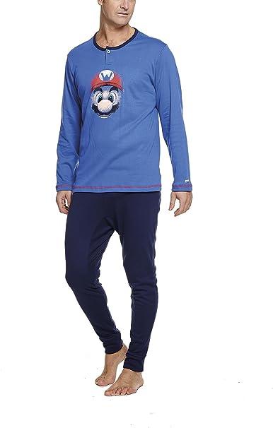Pijama Hombre 100% algodón: Amazon.es: Ropa y accesorios