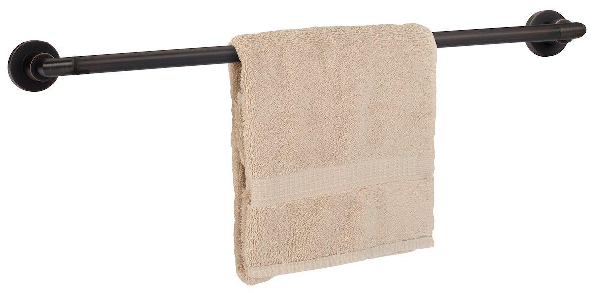 Dynastyハードウェア4000-orb Manhattanタオルバーセット、オイルはブロンズ 30 Inch Towel Bar DYN-4001-ORB B01MUDTNZ6 30 Inch Towel Bar