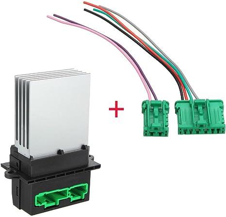 Ventilador Motor regulador + Wire 7701048390 509355: Amazon.es ...