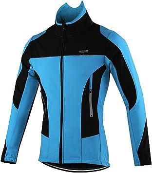 Arsuxeo 15F Hombres Invierno Ciclismo Chaqueta Cycling Jacket (M ...