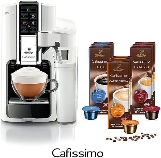 Tchibo Saeco Cafissimo Latte Bianco Incluye 90 Cápsulas – Cafetera ...