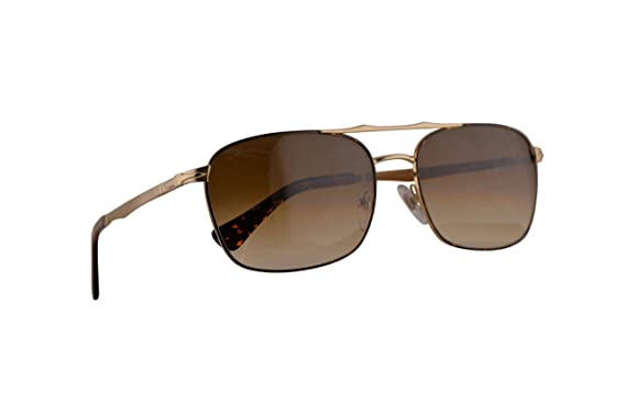 Amazon.com: Persol 2454-S Sunglasses Gold Havana w/Clear ...