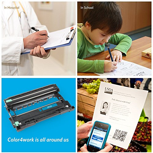 COLOR4WORK Replacement for Brother DR730 Drum Unit 1-Pack, Page Yield Up To 12,000 Pages, Compatible For Brother MFC-L2710DW HL-L2350DW HL-L2370DW HL-L2390DW HL-L2395DW DCP-L2550DW MFC-L2750DW Printer Photo #7