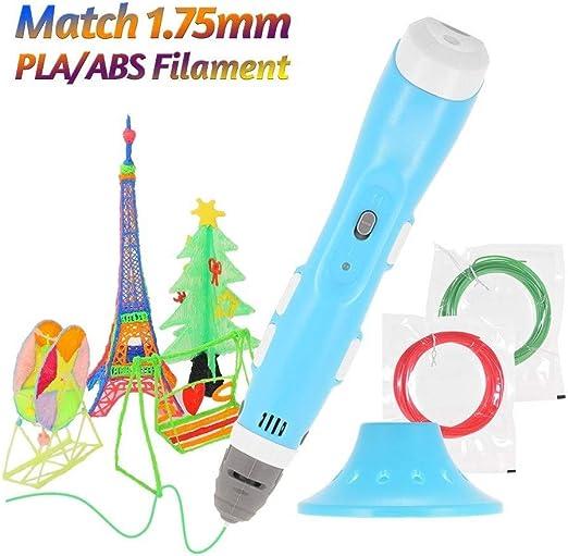 H.Y.FFYH Imprimir Pen Impresora de Dibujo de impresión en 3D Pen ...