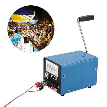 Amazon.com: Generador de manivela manual de alta potencia ...