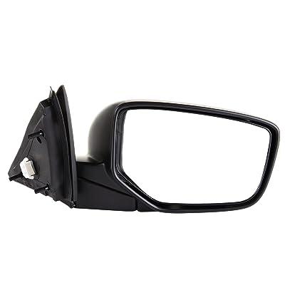 ECCPP Towing Mirror Compatible for 2008-2012 Honda Accord Sedan Power-Adjusting Manul-Folding Right Passenger Side Mirror: Automotive [5Bkhe0112306]