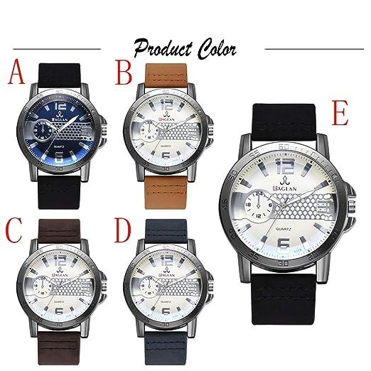 Longra Relojes de Cuarzo para Hombres de la Moda, Reloj de ...