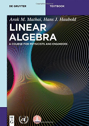Large book cover: Linear Algebra: A Course for Physicists and Engineers