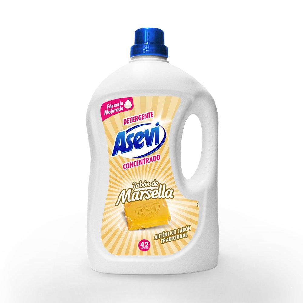 Detergente Asevi Jabón de Marsella 42 dosis