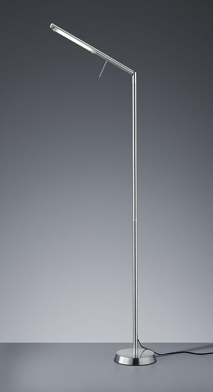 Trio Filigran 560 lumens IP20 6W L/ámpara de pie de lectura LED color n/íquel mate