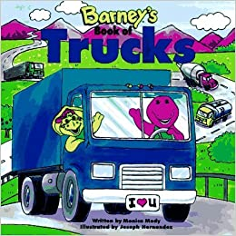 Book Barney's Book of Trucks (Barney Transportation Series) by Monica Mody (1997-05-04)