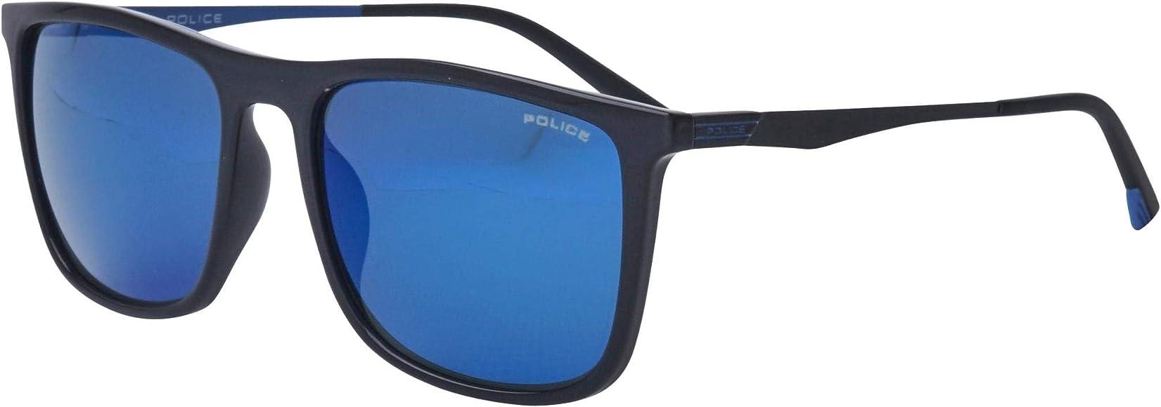 Amazon.com: Gafas de sol de policía Vibe 1 (SPL-770 Z42B ...