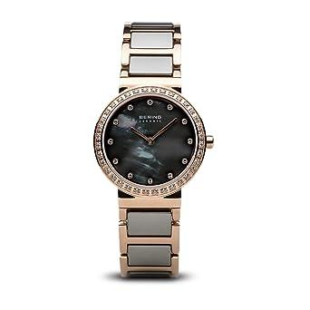 Bering Reloj Analogico para Mujer de Cuarzo con Correa en Acero Inoxidable 10725-769: Amazon.es: Relojes