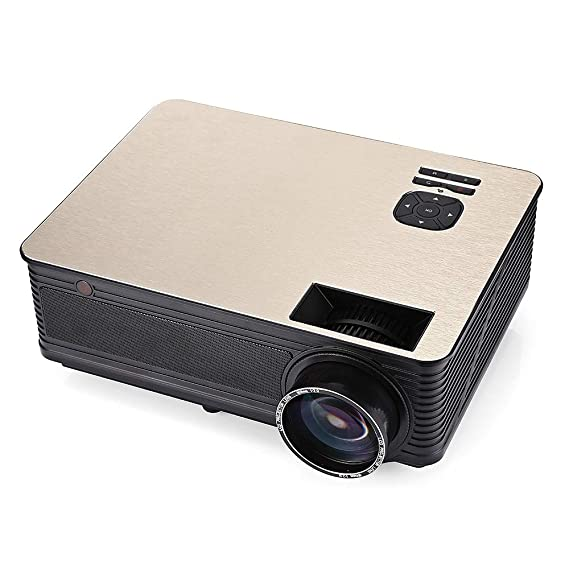 EbuyChX M5 LCD Projector Home Theater 3500 Lumens Support 1080P ...
