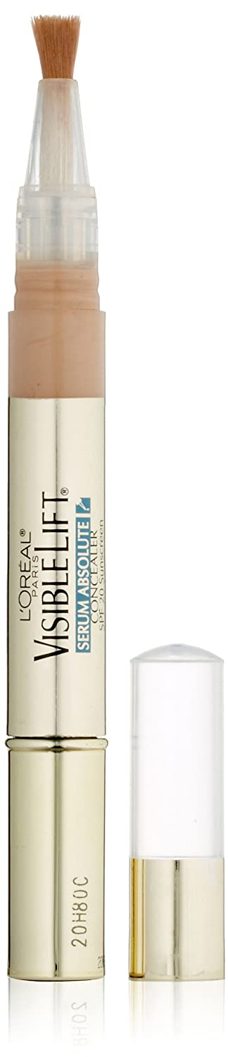 L'Oréal Paris Visible Lift Serum Absolute Concealer, Light, 0.05 fl. oz.