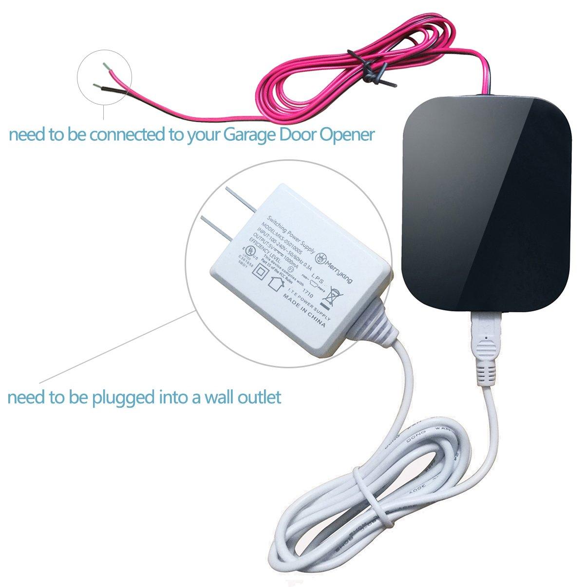 DATONTEN Smart Garage Door Opener Bluetooth Garage Door Remote, Open and Close Garage Doors from a Smartphone RFQ