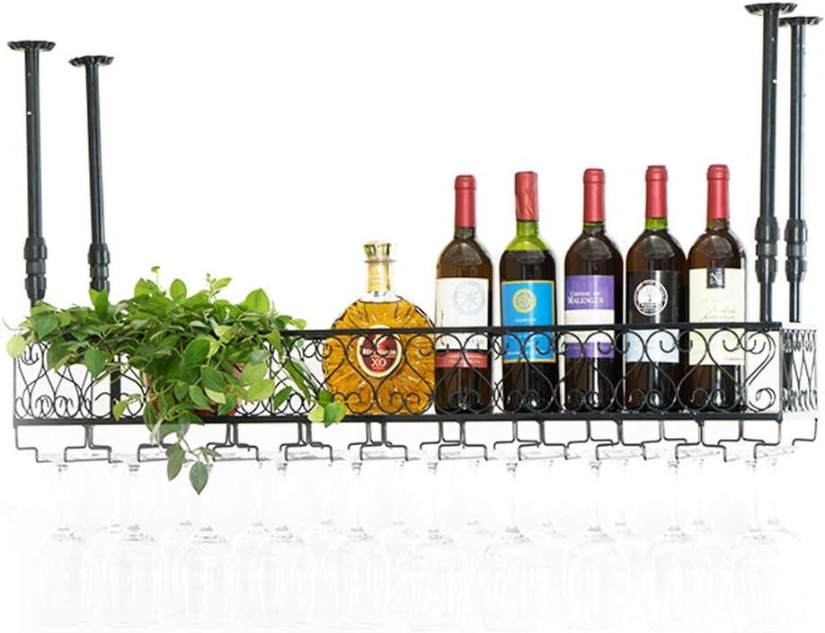 Soporte Para Copas De Vino Para Colocar En El Techo Portavasos De Hierro Metálico Portaequipajes Para Vinos Vino Champagne Vidrio Para Vinos Copas De Copas De Vino Botellero Para Vinos Portaequipajes