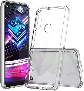 Moto G Fast Case, Moto G Fast Case Clear, SKTGSLAMY Soft TPU Case Crystal Transparent Slim Anti Slip Case Back Protector Case Cover for Motorola Moto G Fast (Clear)