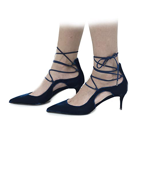 No es Vestir Mujer Turquesa para y complementos Amazon LeSilla Zapatos Azul Zapatos de qFBWppfO0