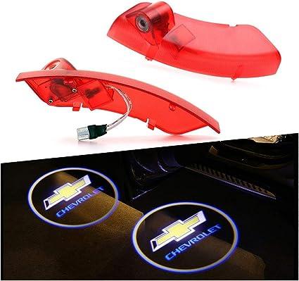 RCJ- Luz LED para puerta de coche, diseño de con logotipo de ...