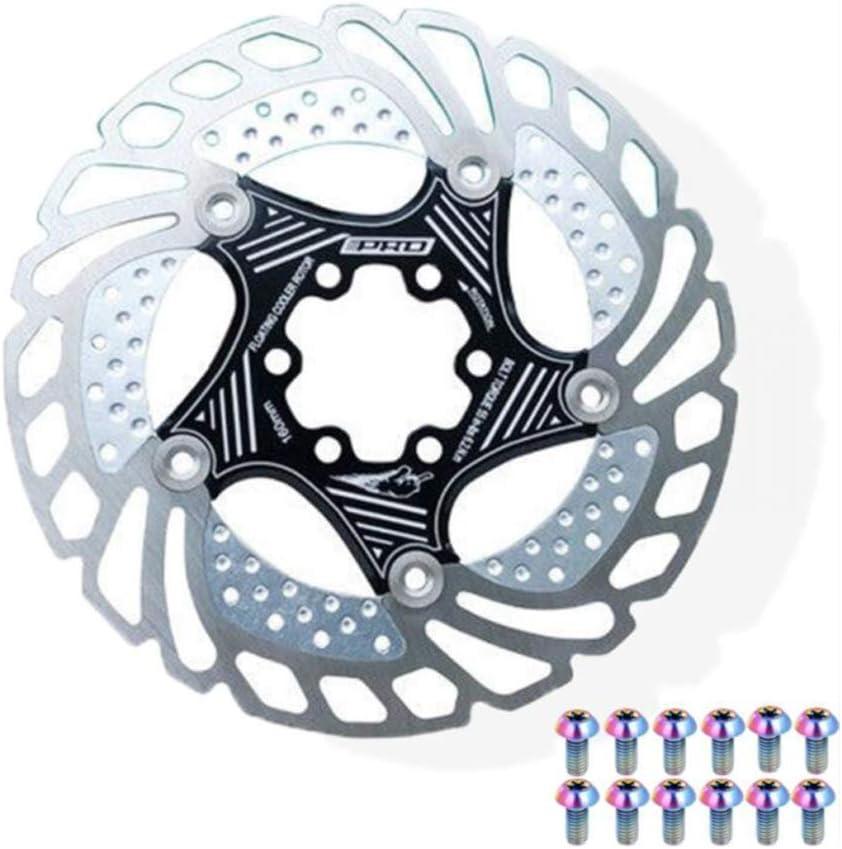 MTB Bike Disc Brake Floating Rotor 160mm//180mm 6 Bolts Rotor Caliper