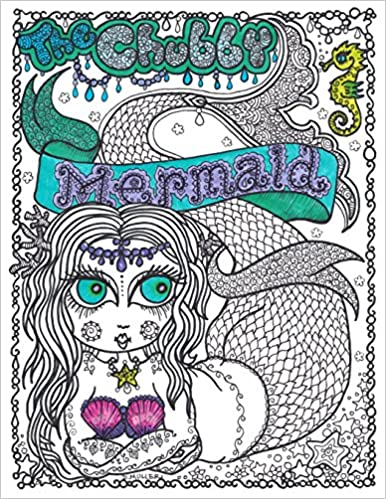 Amazon.com: Chubby Mermaid Coloring Book (9781539364030 ...