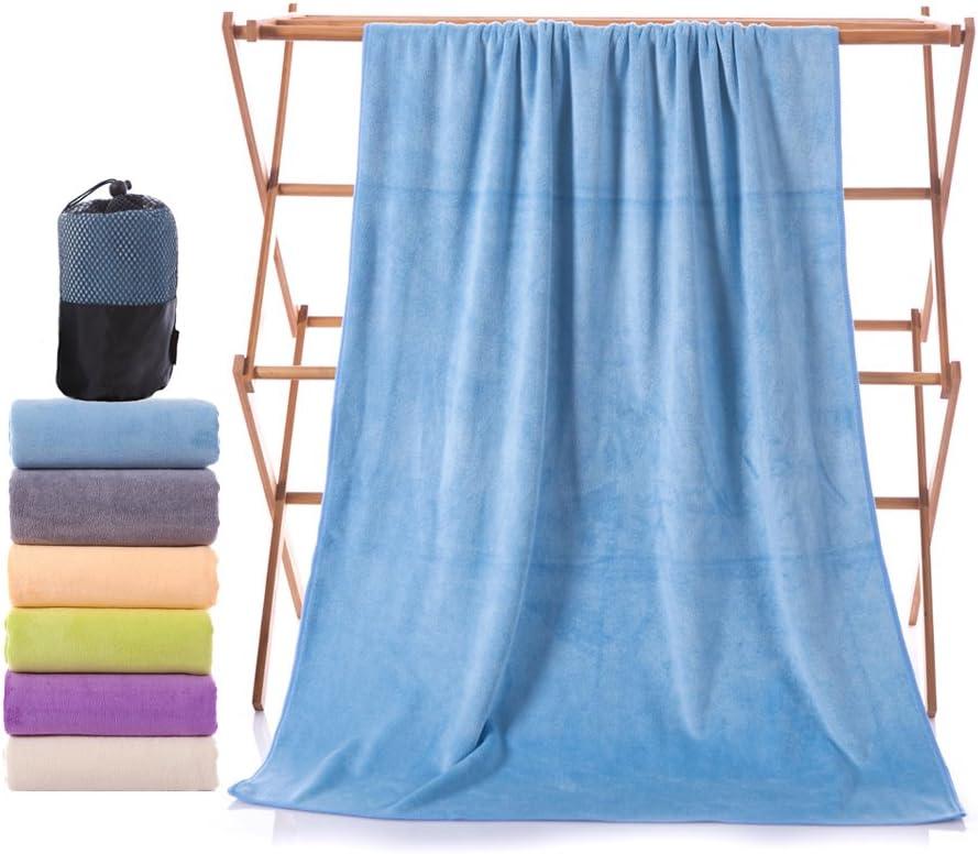 sports towel swimming towel bag soft quick-drying Yoga towel MUMUGO Microfiber beach travel towel beach towel lightweight super absorbent