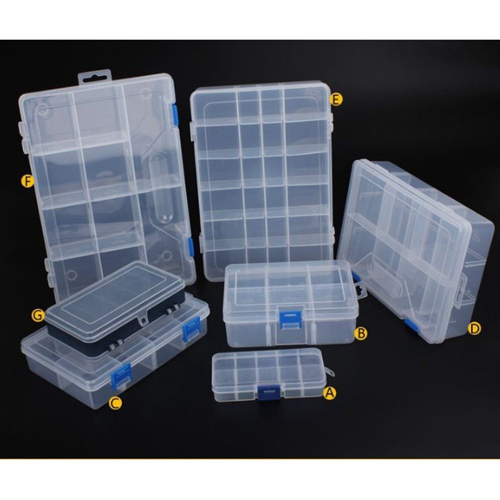 Household vehicle-mountedストレージボックスプラスチックツール電子コンポーネントのコンテナ Type A 10 squares (small) -0.03kg Mi-home-yzz-20180319-33 B07BKRDLGR