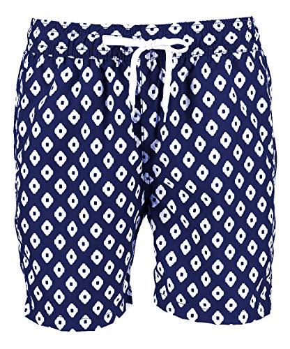 Mens New Capri Pants - Kanu Surf Men's Havana Swim Trunks (Regular & Extended Sizes), Capri Navy, XX-Large