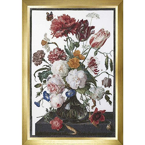 Thea Gouverneur Still Life W/Flowers On Aida (18 Counted Cross Stitch ()